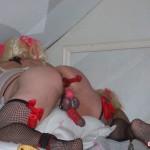 Tgirls in stockings fuck